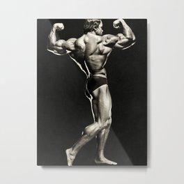 Arnold Schwarzenegger Vintage 01 Metal Print