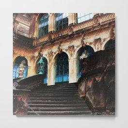Zwinger Dresden abstract Metal Print