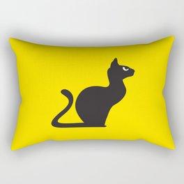 Angry Animals: Cat Rectangular Pillow