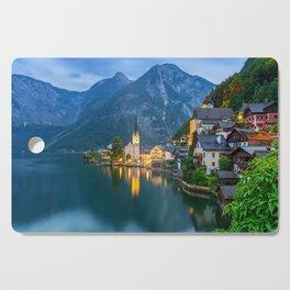 Hallstatt Village, Alps Cutting Board