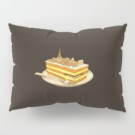 Hungry for Travels: Slice of Paris Pillow Sham