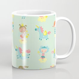 Fairies and unicorns Coffee Mug