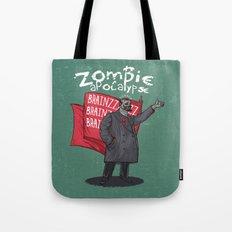 Zombie Lenin Tote Bag