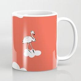 Flying Flamingo by McKenna Sanderson Coffee Mug