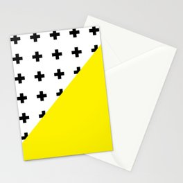 Memphis pattern 75 Stationery Cards