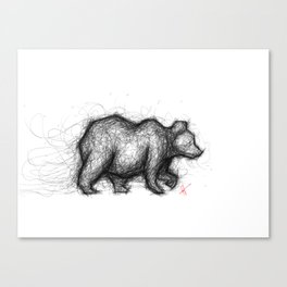 The Bear Necessities Canvas Print