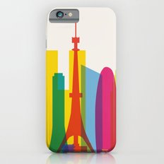 Shapes of Tokyo. Accurate to scale. iPhone 6s Slim Case