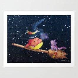 Sweet Tooth Spellcast Art Print