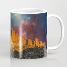 Sacred Mountains 2 (galaxy sky) Coffee Mug
