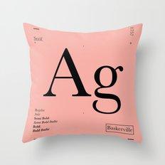 Baskerville Throw Pillow