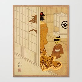 Yokai Series: Megitsune Canvas Print