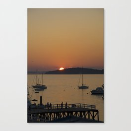 Sunset at Hull Massachusetts Canvas Print