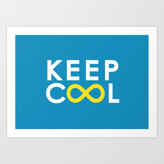Forever coolness Art Print