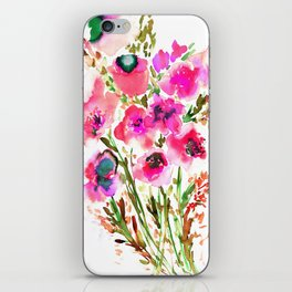 Bouquet Pink iPhone Skin
