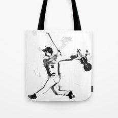 Baseball Violin Tote Bag
