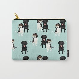 Jasper and Bella Pattern Carry-All Pouch