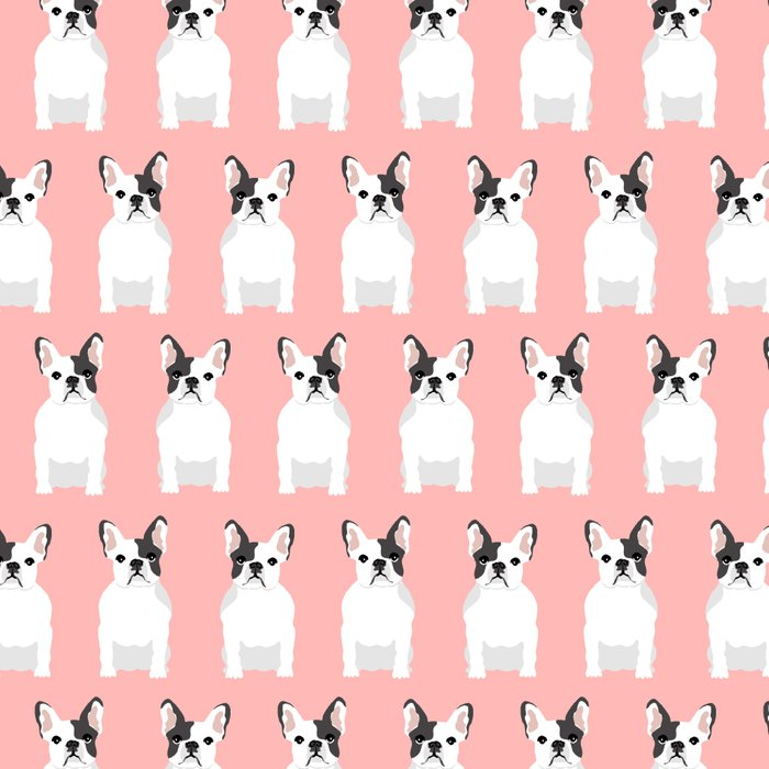 French Bulldog pink pastel cute dog portrait frenchie owner must have gifts dog art breeds Leggings