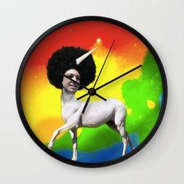 Bella the Unicorn Wall Clock