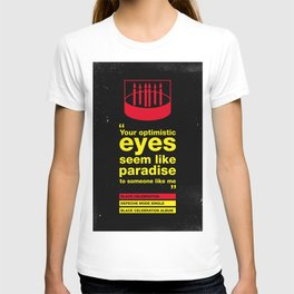 Depeche Black - Your Optimistic eyes - Mode Celebration T-shirt