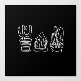 Plants in Pots Canvas Print