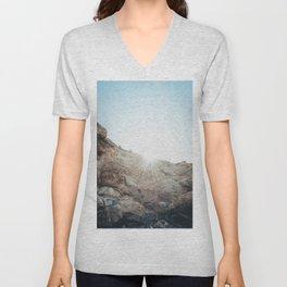 Big Sur Sunrise Unisex V-Neck