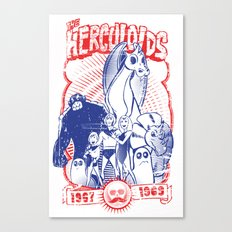the herculoids Canvas Print