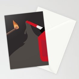 Burn it to Hell Stationery Cards