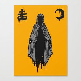The Mother of Misery Canvas Print
