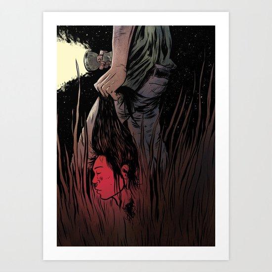 Beheaded Art Print