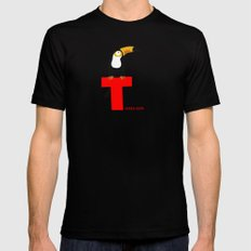 t for toucan Black MEDIUM Mens Fitted Tee