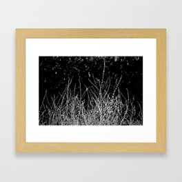 SAGE SKELETON Framed Art Print