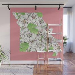 Missouri in Flowers Wall Mural