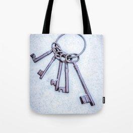 Rusty Keys Tote Bag