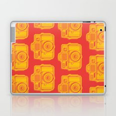 I Still Shoot Film Holga Logo - Reversed Yellow & Red Laptop & iPad Skin