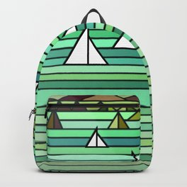 Sailing - Turquise Sea Backpack