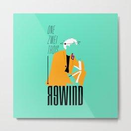 Jonghyun - Rewind Metal Print