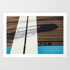 VELODROME SERIES II Art Print
