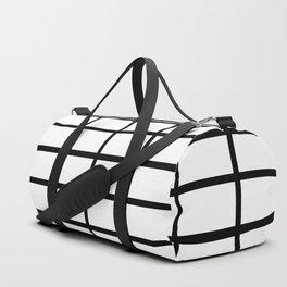 boxy black Duffle Bag