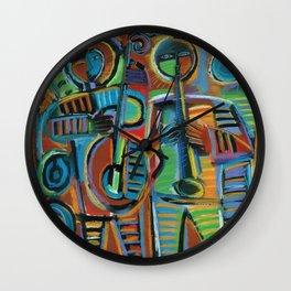 Jazzmen 2 Wall Clock