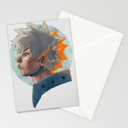 King Explosion Murder Stationery Cards