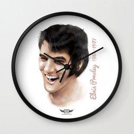 Elvis Presley Tribute Portrait Wall Clock