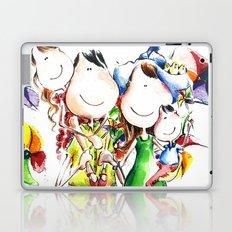 Happy family Laptop & iPad Skin
