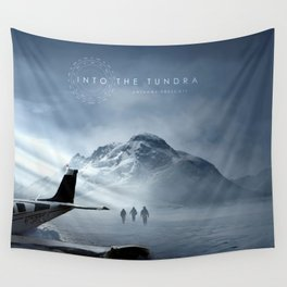Into The Tundra Album Artwork Wall Tapestry