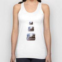 polaroid Tank Tops featuring Polaroid by Lara Trimming