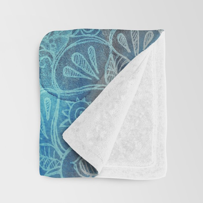 Lost in Blue - a daydream made visible Throw Blanket