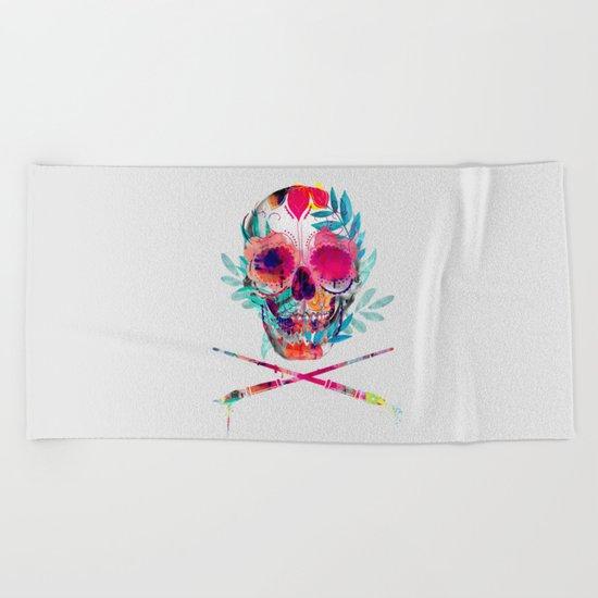 Skull III Beach Towel