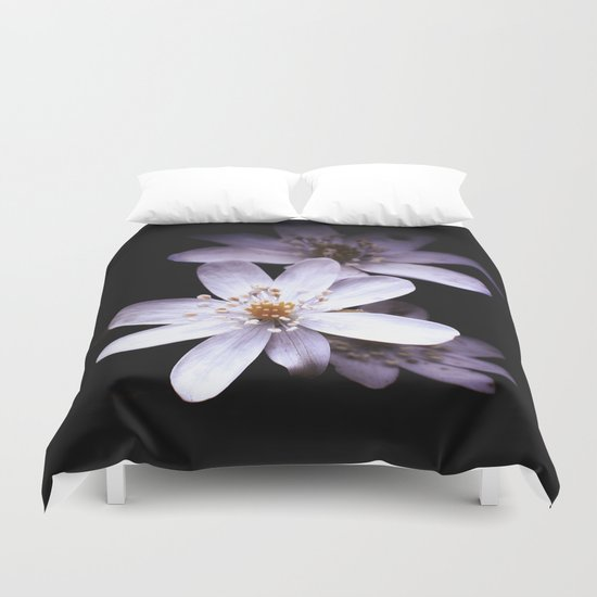 Magic White Duvet Cover