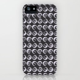 Guitar Knob Dots Pattern iPhone Case