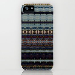 Bending Mountains Before Work iPhone Case
