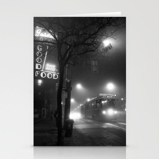 A Streetcar Named Noir Stationery Cards